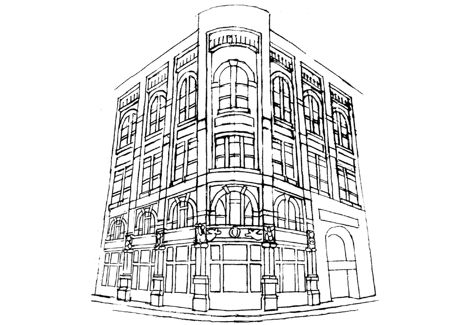 illustration-sketches-druhmor-building-asheville